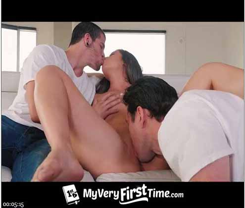to-become-a-porn-model-brunette-has-to-suck-two-dicks-and-fuck-with-them