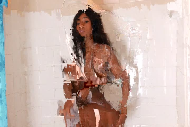 Interracial Action With Ebony Mommy