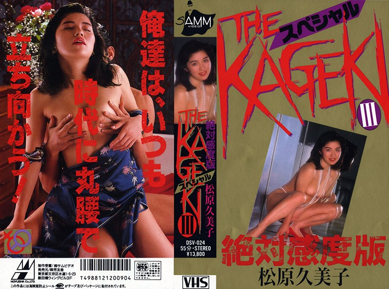 41dsv00024 ザ・KAGEKI III スペシャル 松原久美子