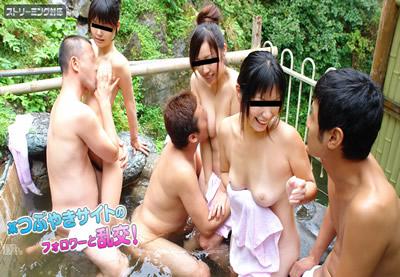 Japanese swimsuit fuck in shower