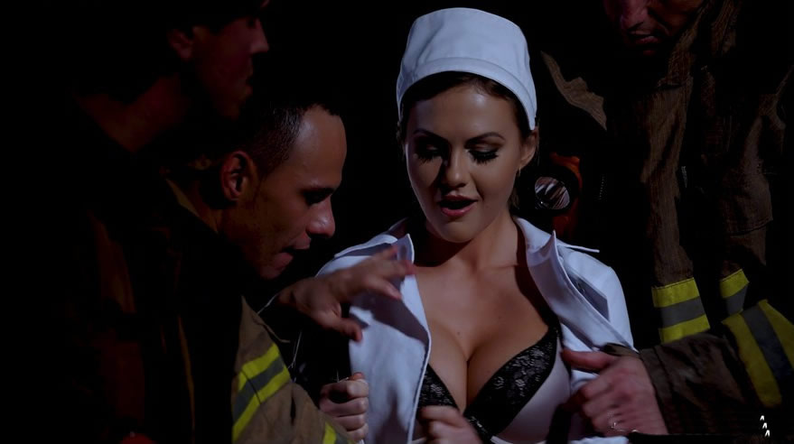DorcelClub 17 06 16 tina kay gang bang with 3 firefighters