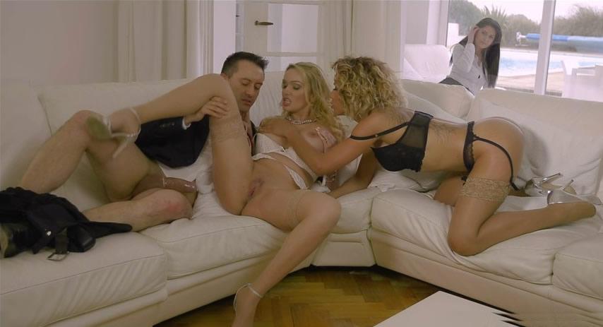 DorcelClub 17 07 21 rose valerie amber jayne and mariska his wife offers him 2 slutty girls